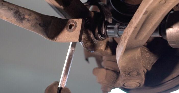 Cómo reemplazar Amortiguadores en un VW PASSAT Variant (3B6) 2001: descargue manuales en PDF e instrucciones en video