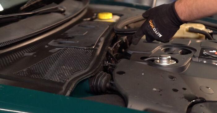 Sustitución de Amortiguadores en un Passat 3B6 1.8 T 20V 1998: manuales de taller gratuitos