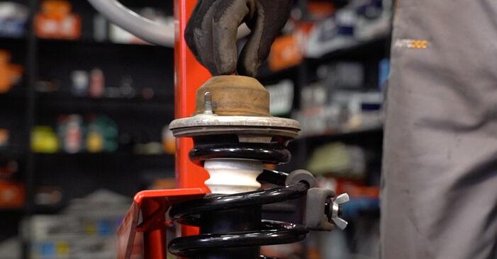 PASSAT Variant (3B6) 1.6 2001 Amortiguadores manual de taller de sustitución por su cuenta