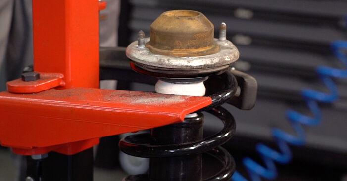 Recomendaciones paso a paso para la sustitución por su cuenta Passat 3B6 1997 1.6 Amortiguadores