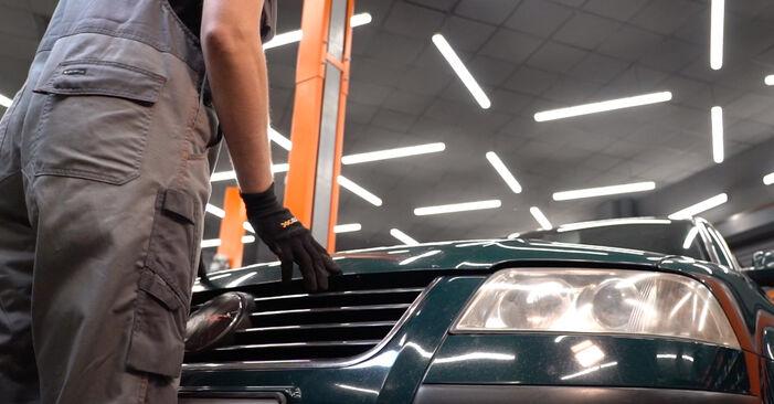 Cambie Amortiguadores en un VW PASSAT Variant (3B6) 2.0 1999 usted mismo