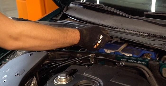 Wechseln Federn am VW PASSAT Variant (3B6) 2.0 2003 selber