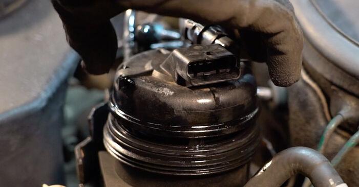 Recommandations étape par étape pour remplacer soi-même Opel Corsa C 2003 1.7 DTI (F08, F68) Filtre à Carburant