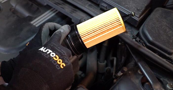 Remplacer Filtre à Huile sur BMW E90 2000 320d 2.0 par vous-même