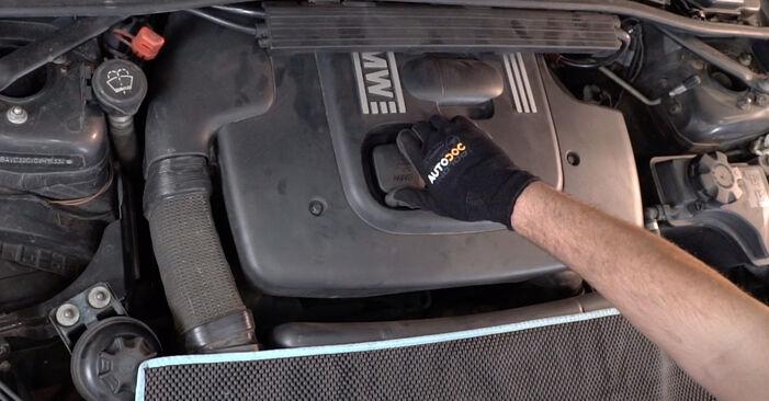 Comment remplacer BMW 3 Berline (E90) 320d 2.0 1999 Filtre à Huile - manuels pas à pas et guides vidéo