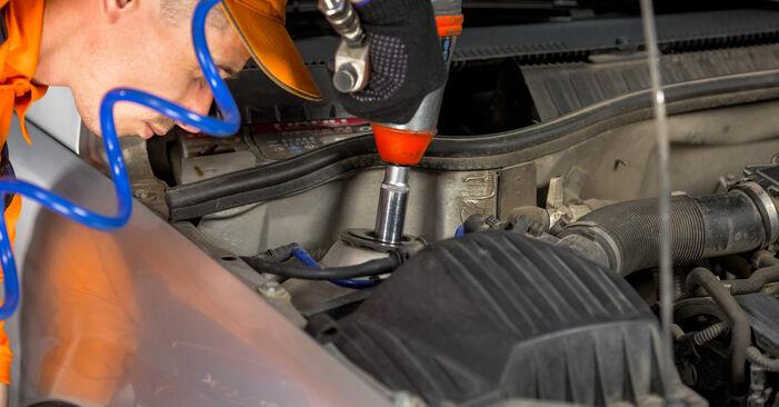 Pasikeiskite BMW 3 Sedanas (E90) 318d 2.0 2008 Stabdžių diskas patys - internetinė instrukcija