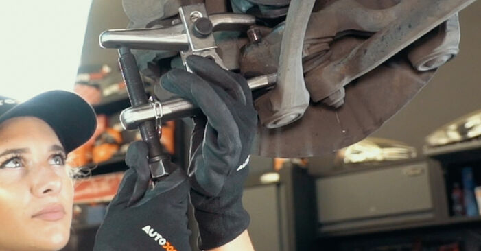 Need to know how to renew Control Arm on BMW X3 ? This free workshop manual will help you to do it yourself