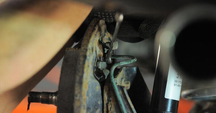 Колко време отнема смяната: Колесен цилиндър на Opel Corsa S93 2001 - информативен PDF наръчник
