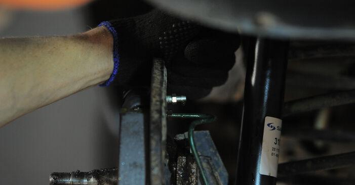 Zweckdienliche Tipps zum Austausch von Radbremszylinder beim OPEL Corsa B Schrägheck (S93) 1.4 i (F08, F68, M68) 1997
