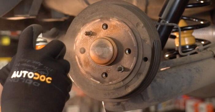 Radbremszylinder am OPEL Corsa B Schrägheck (S93) 1.7 D (F08, F68, M68) 1998 wechseln – Laden Sie sich PDF-Handbücher und Videoanleitungen herunter