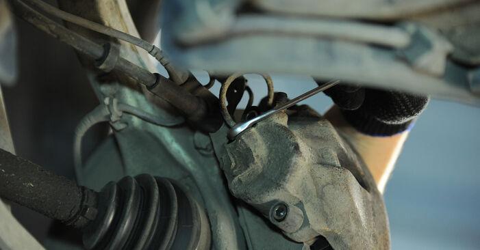 AUDI A4 2.0 Bremssattel ausbauen: Anweisungen und Video-Tutorials online