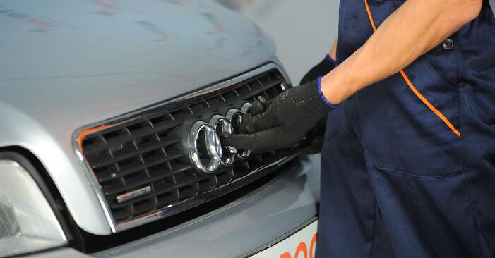 Federn Ihres Audi A4 b6 1.9 TDI 2003 selbst Wechsel - Gratis Tutorial