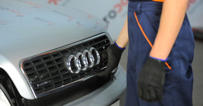 How to change Springs on Audi A4 b6 2000 - free PDF and video manuals