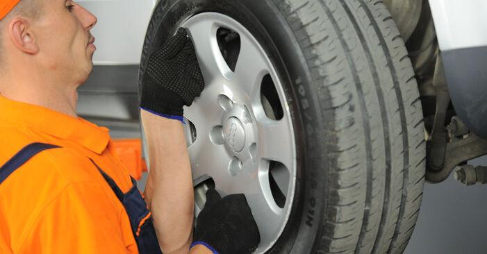 Federn Audi A4 b6 2.5 TDI quattro 2002 wechseln: Kostenlose Reparaturhandbücher