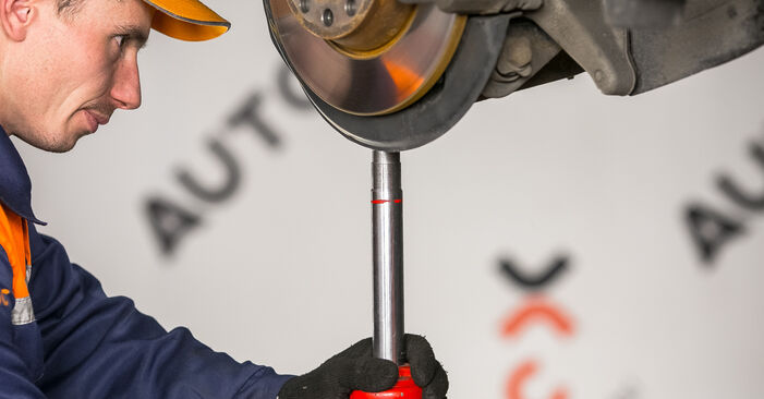 How to remove VW PASSAT 2.0 TDI 4motion 2009 Strut Mount - online easy-to-follow instructions