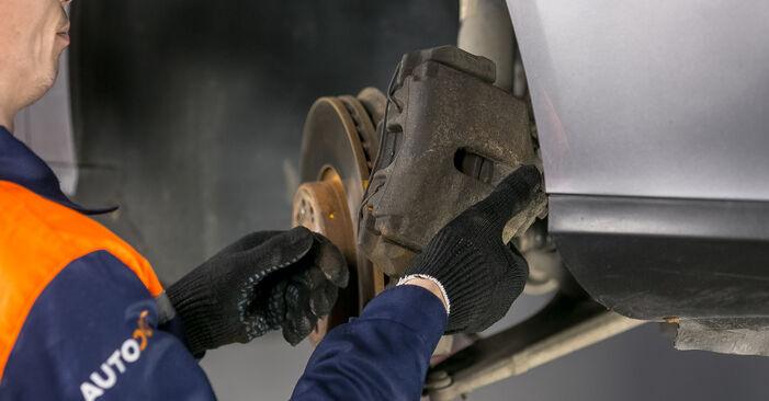 VW PASSAT 2005 Uložení Tlumičů návod na výměnu, krok po kroku