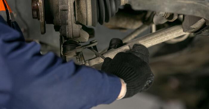Jak vyměnit VW Passat Variant (3C5) 2.0 TDI 2006 Uložení Tlumičů - návody a video tutoriály krok po kroku.