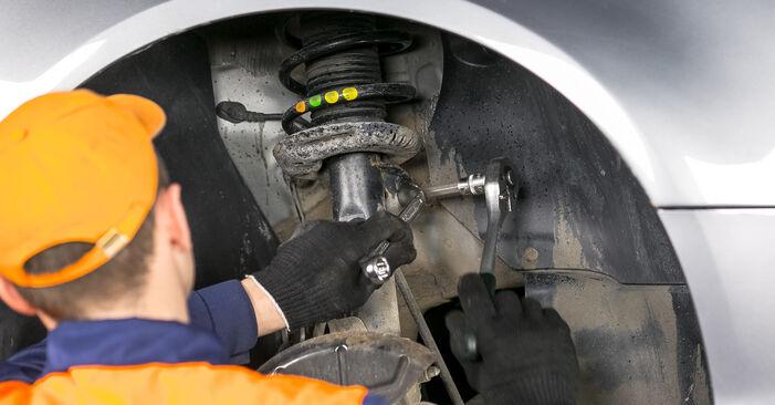 Podrobná doporučení pro svépomocnou výměnu Passat B6 2011 2.0 TDI 4motion Uložení Tlumičů