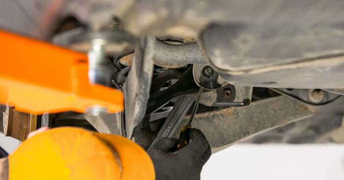 Passat Variant (3C5) 2.0 TDI 4motion 2010 Bras de Suspension manuel d'atelier pour remplacer soi-même