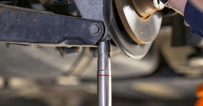 Recommandations étape par étape pour remplacer soi-même Passat B6 2006 2.0 TDI 4motion Bras de Suspension