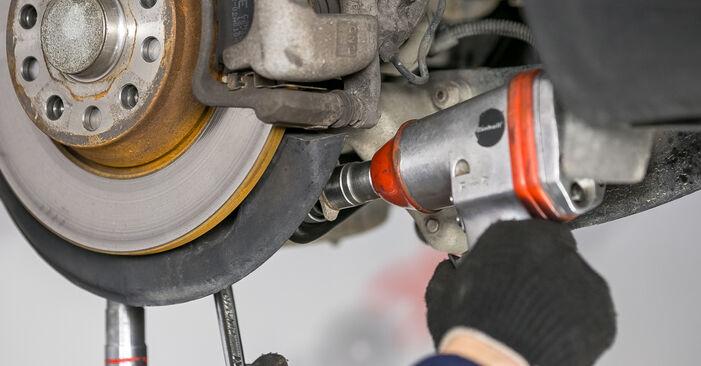 Faites-le vous-même : tutoriel en ligne pour le changement de VW PASSAT Bras de Suspension