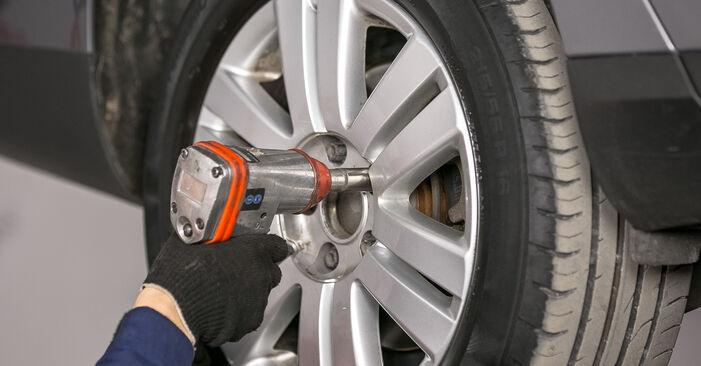 Comment remplacer VW Passat Variant (3C5) 2.0 TDI 2006 Bras de Suspension - manuels pas à pas et guides vidéo