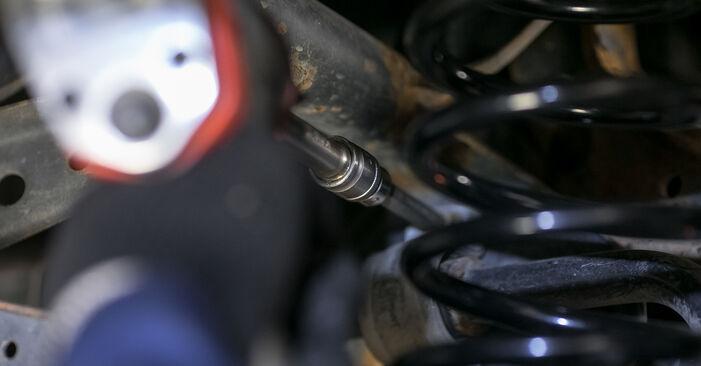 À quel point est-il difficile de le faire soi-même : télécharger le guide illustré pour le changement de Bras de Suspension sur Passat B6 1.4 TSI EcoFuel 2005