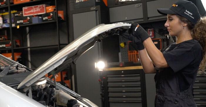 Como trocar Filtro de Combustível no Mercedes W168 1997 - manuais gratuitos em PDF e vídeo