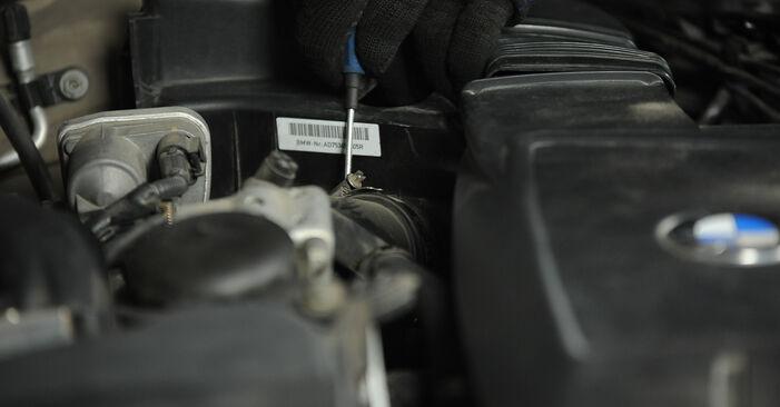 Wechseln Luftfilter am BMW 3 Limousine (E90) 318i 2.0 2009 selber