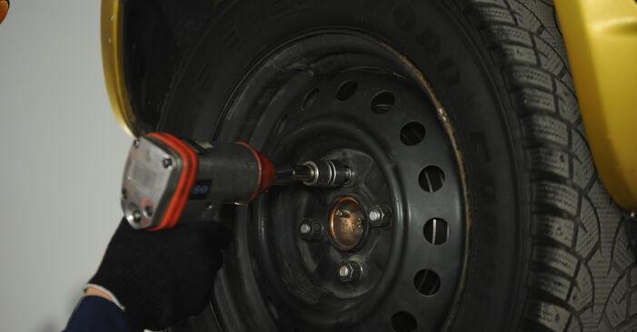 Yaris Hatchback (_P1_) 1.5 (NCP13_) 2003 Shock Absorber DIY replacement workshop manual