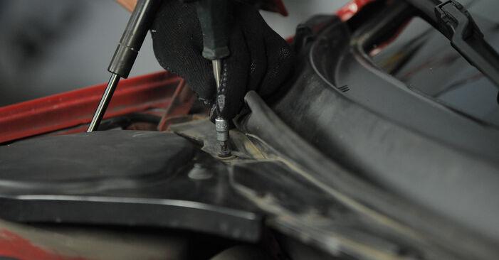Innenraumfilter Ford Mondeo bwy 2.0 16V TDDi / TDCi 2002 wechseln: Kostenlose Reparaturhandbücher