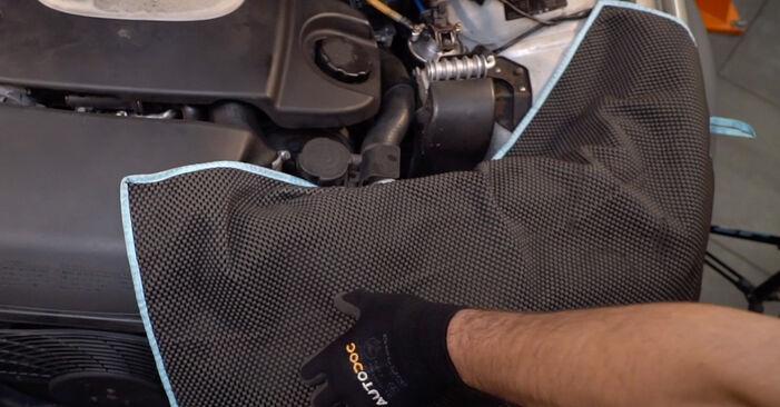 Innenraumfilter Ihres Ford Mondeo bwy 1.8 SCi 2000 selbst Wechsel - Gratis Tutorial