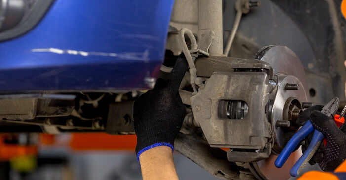 La sostituzione di Supporto Ammortizzatore su Ford Fiesta V jh jd 2009 non sarà un problema se segui questa guida illustrata passo-passo