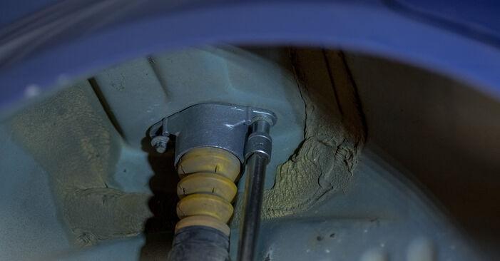 Domlager Ford Fiesta Mk5 1.3 2003 wechseln: Kostenlose Reparaturhandbücher