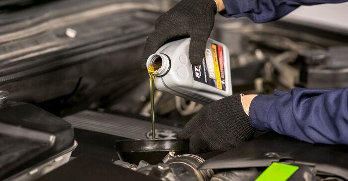 Så tar du bort BMW X5 4.8 is 2004 Oljefilter – instruktioner som är enkla att följa online