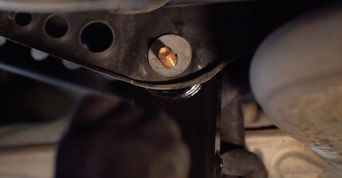 VW Golf VI 2.0 TDI 2010 Bras de Suspension remplacement : manuels d'atelier gratuits