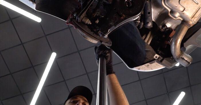 VW GOLF 2009 Bras de Suspension manuel de remplacement étape par étape