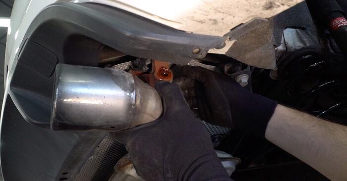 Combien de temps dure le remplacement : Bras de Suspension sur VW Golf VI 2010 - manuel PDF informatif