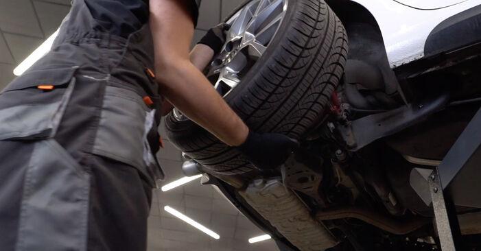 Comment retirer VW GOLF 1.4 2012 Bras de Suspension - instructions en ligne faciles à suivre