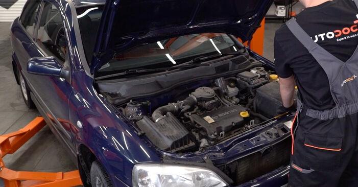 Wie Motorlager Opel Astra g f48 1.6 16V (F08, F48) 1998 tauschen - Kostenlose PDF- und Videoanleitungen