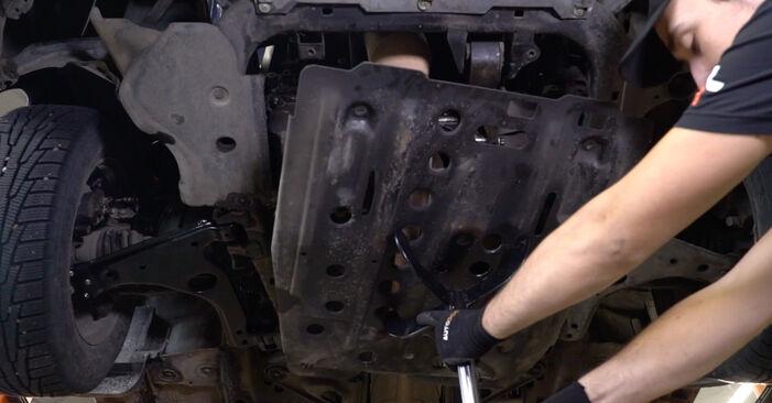 Astra G CC (T98) 1.7 DTI 16V (F08, F48) 2009 1.6 (F08, F48) Motorlager - Handbuch zum Wechsel und der Reparatur eigenständig