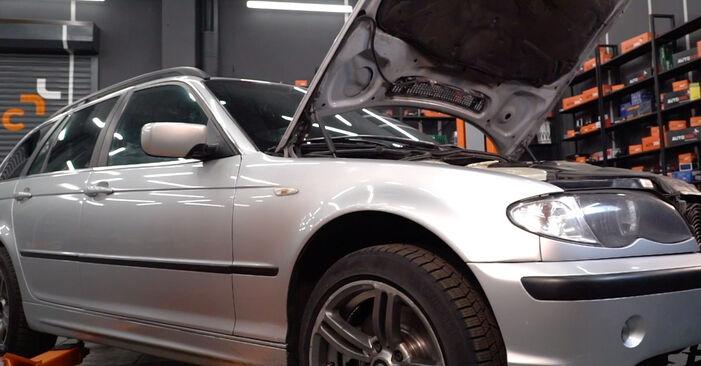Wie Kraftstofffilter BMW 3 Touring (E46) 320d 2.0 1995 tauschen - Kostenlose PDF- und Videoanleitungen