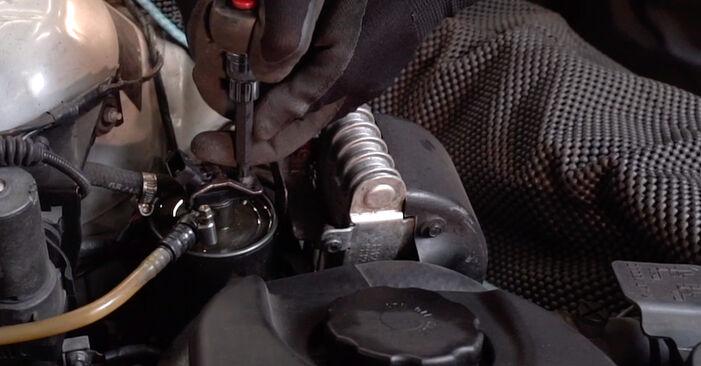 Wie BMW 3 SERIES 330d 3.0 1999 Kraftstofffilter ausbauen - Einfach zu verstehende Anleitungen online