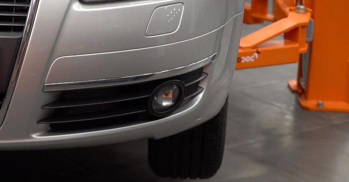 Querlenker Audi A6 C6 2.4 2006 wechseln: Kostenlose Reparaturhandbücher