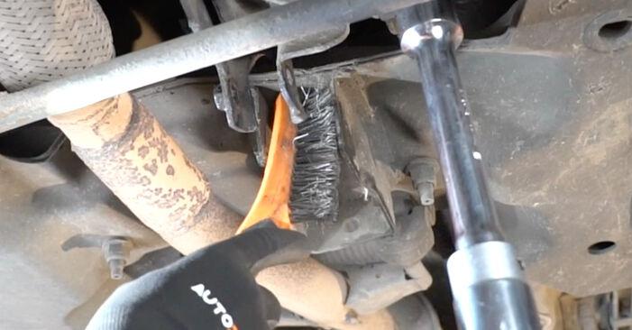 PEUGEOT 207 1.4 Motorlager ausbauen: Anweisungen und Video-Tutorials online