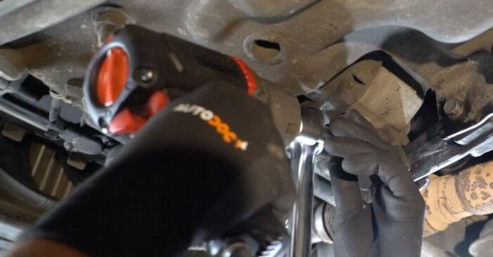 Schritt-für-Schritt-Anleitung zum selbstständigen Wechsel von Peugeot 207 WA 2009 1.6 16V VTi Motorlager
