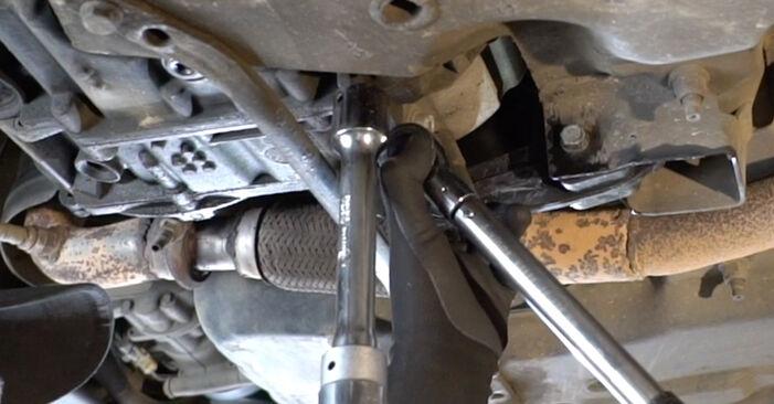 Wie Motorlager Peugeot 207 WA 1.4 HDi 2006 tauschen - Kostenlose PDF- und Videoanleitungen