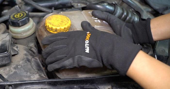 Udskiftning af Motorophæng på FORD FOCUS (DAW, DBW) 1.4 16V 2001 ved gør-det-selv