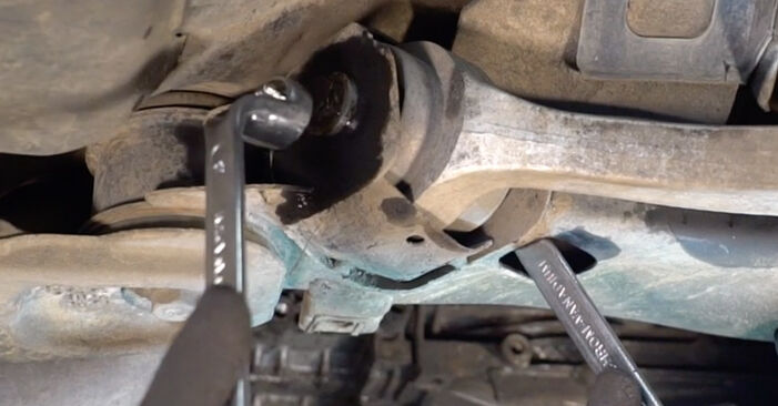 Replacing Control Arm on Audi A4 B6 Avant 2000 1.9 TDI by yourself