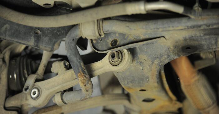 Ar sudėtinga pasidaryti pačiam: Audi A4 b6 2.5 TDI 2001 Vikšro Valdymo Svirtis keitimas - atsisiųskite iliustruotą instrukciją
